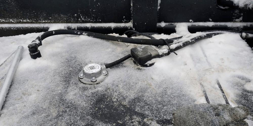 Установка датчика уровня топлива